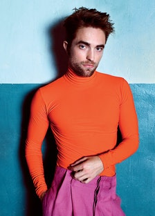 October Cover Image - Robert Pattinson
