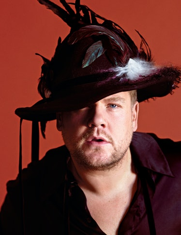 October Cover Image - James Corden