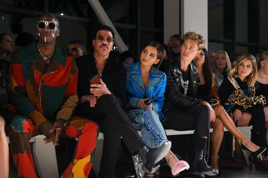 Jeremy Scott front row