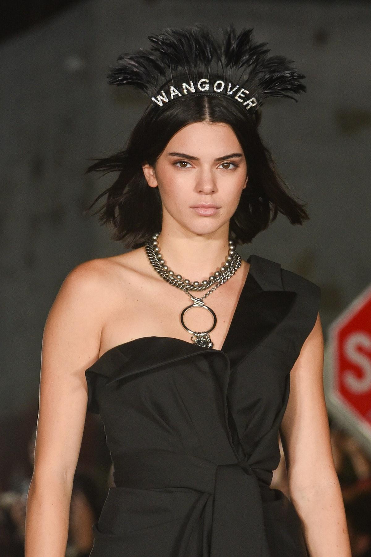 Alexander Wang fashion show during New York Fashion Week