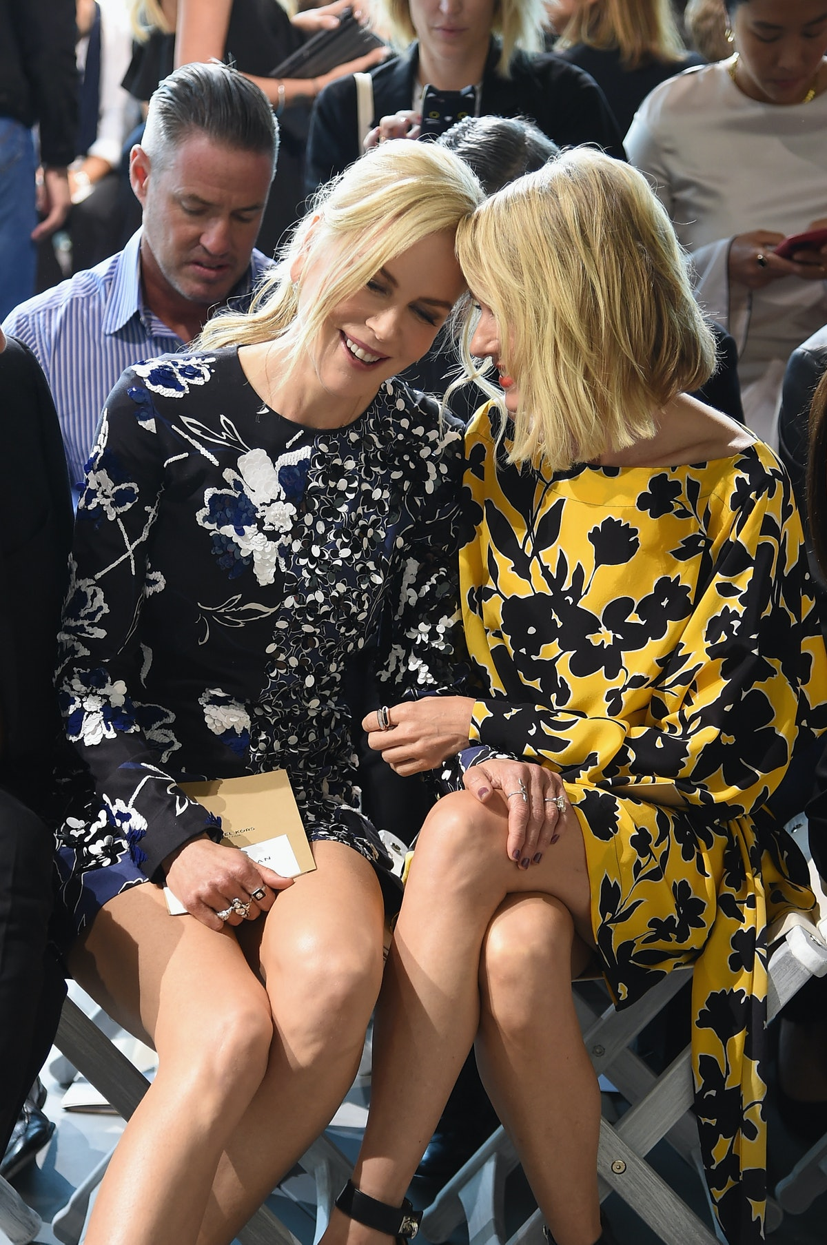 Michael Kors Collection Spring 2018 Runway Show - Front Row