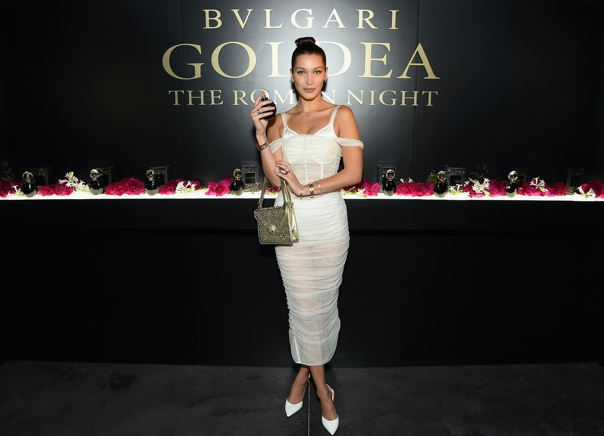 "Bulgari Celebrates Launch Of New Fragrance ""Goldea, The Roman Night"""