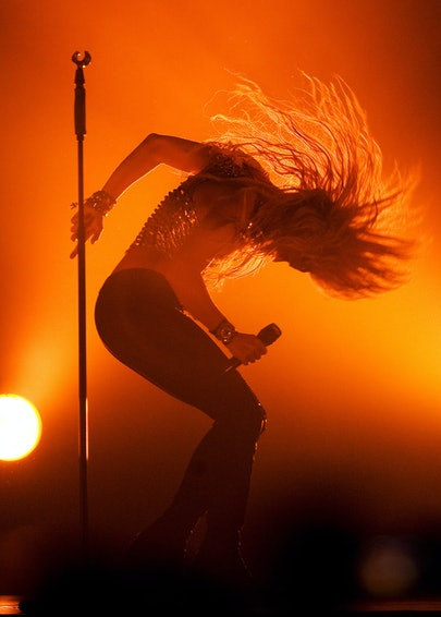 Shakira Performs At The 02 Arena
