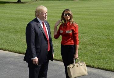 Trumps Return to the White House from Camp David