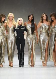 Versace supermodels
