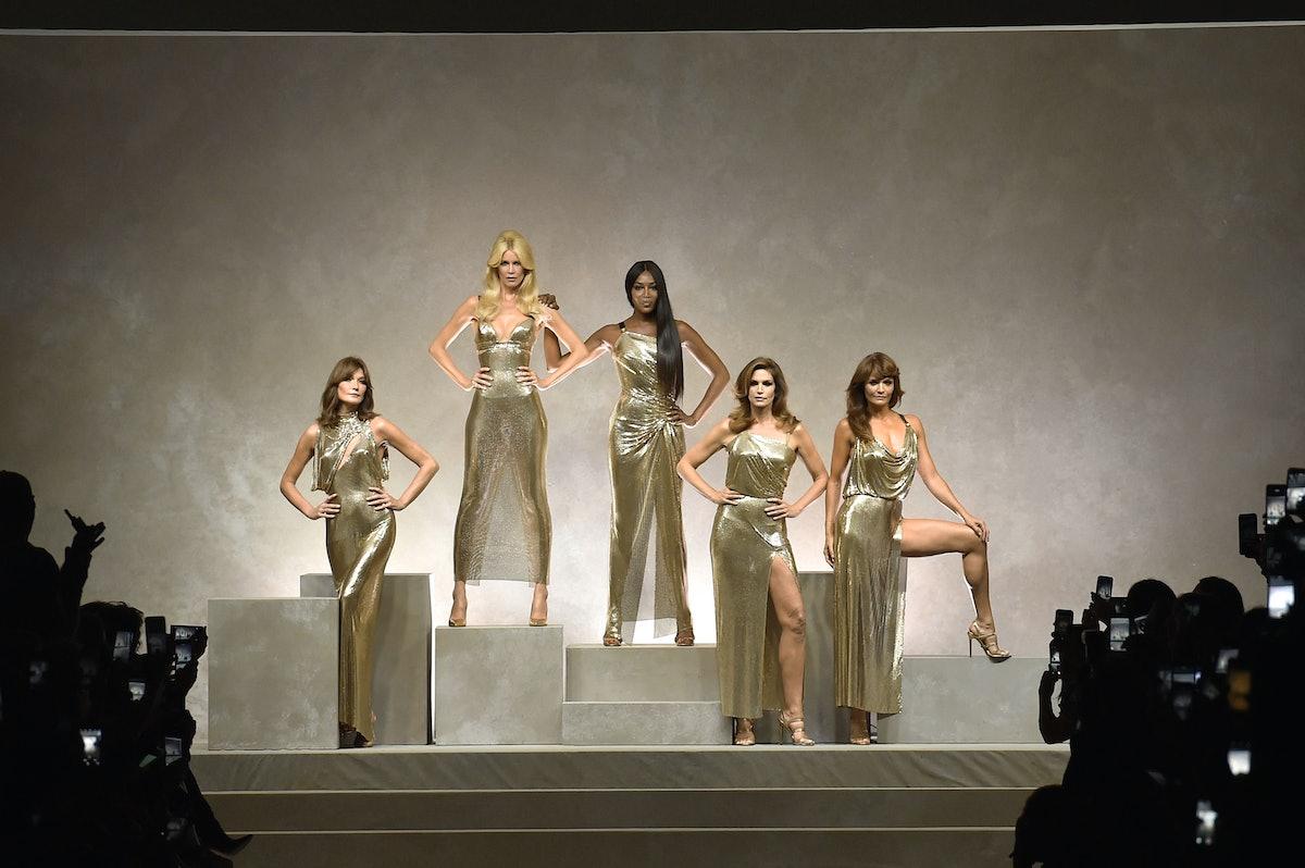Versace - Runway RTW - Spring 2018 - Milan Fashion Week