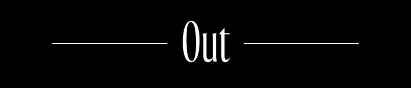 In and Out: Out