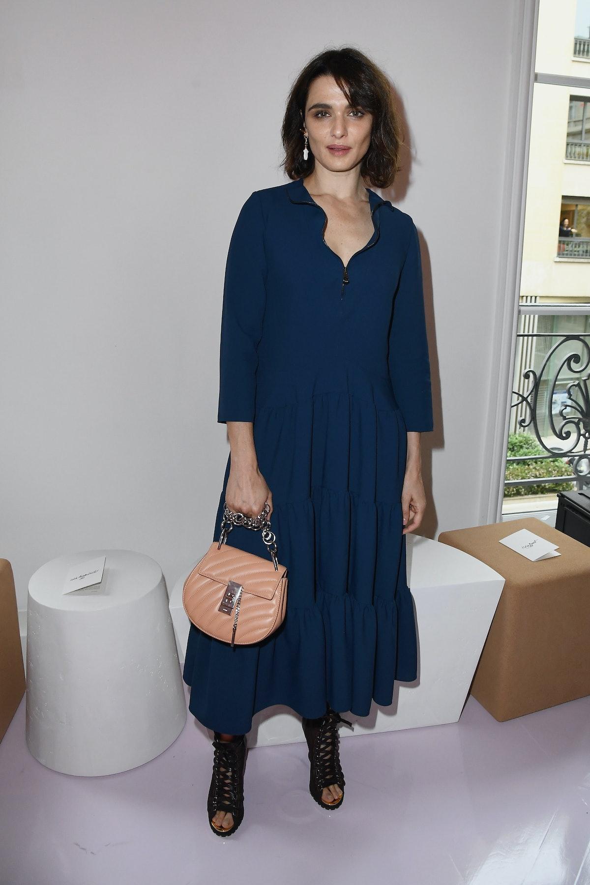 Chloe : Front Row - Paris Fashion Week Womenswear Spring/Summer 2018