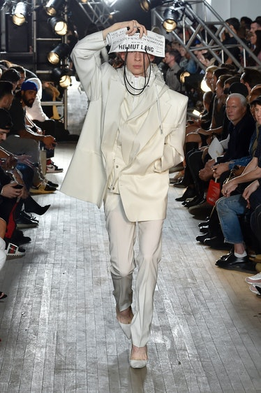 Helmut Lang - Runway RTW - Spring 2018 - New York Fashion Week