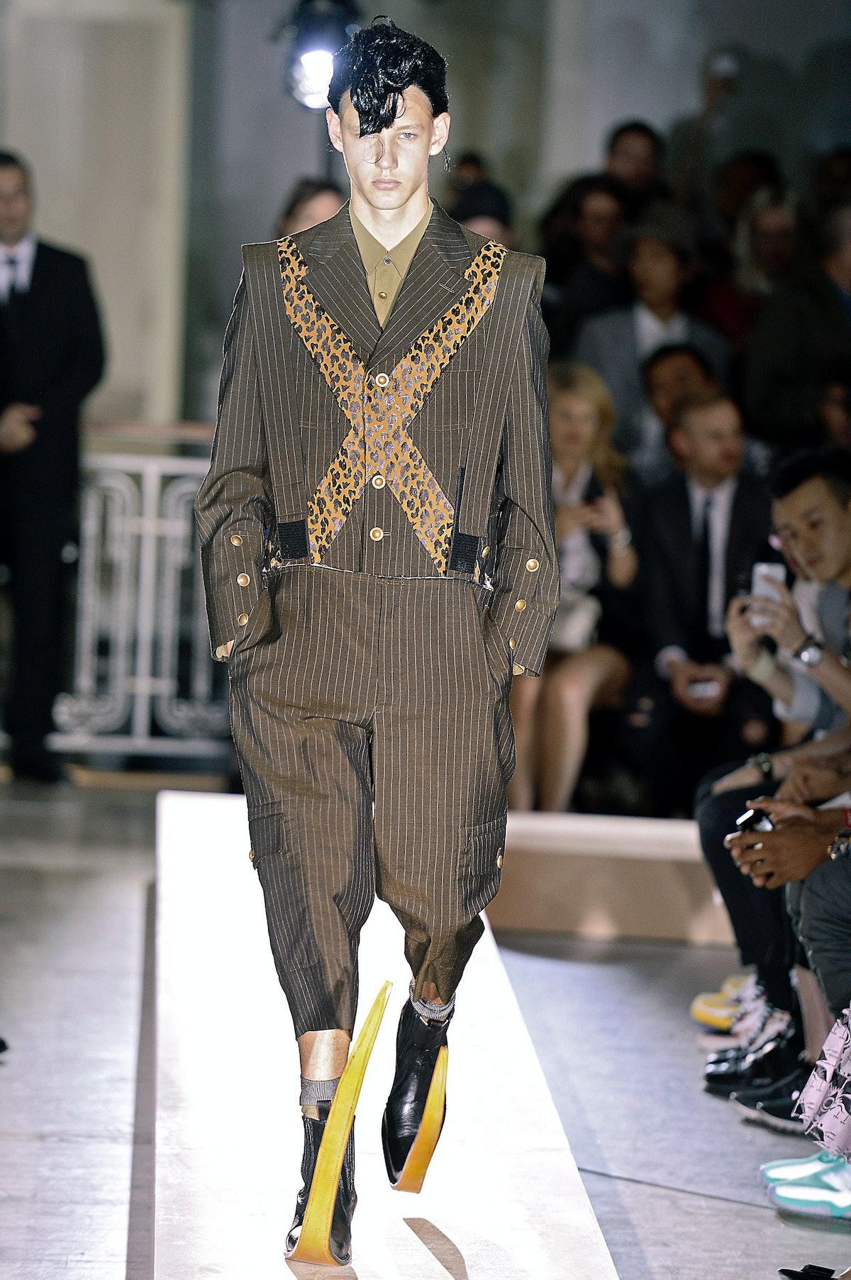 Comme Des Garcons Homme Plus - Mens Spring 2015 Runway - Paris Menswear Fashion Week
