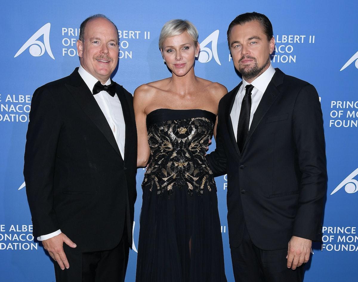 "Inaugural ""Monte-Carlo Gala For The Global Ocean"" Honoring Leonardo DiCaprio : Cocktail At The Monaco Garnier Opera"