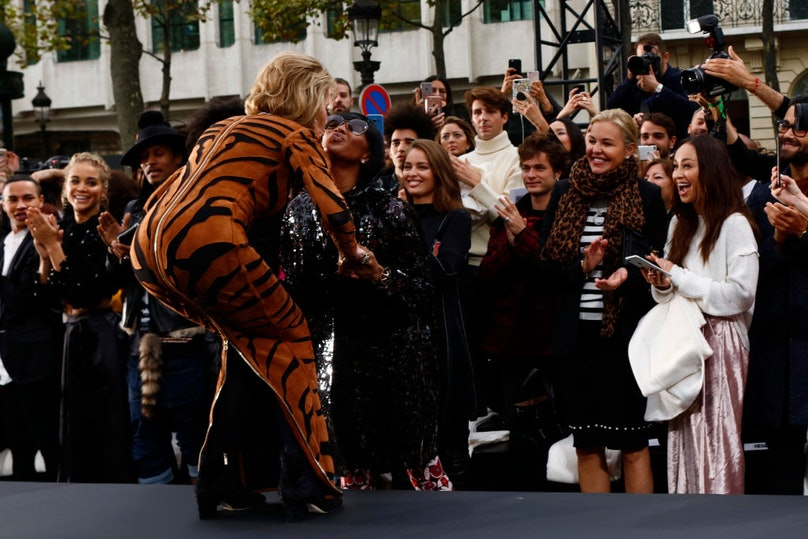 L'oreal Fashion Show in Paris