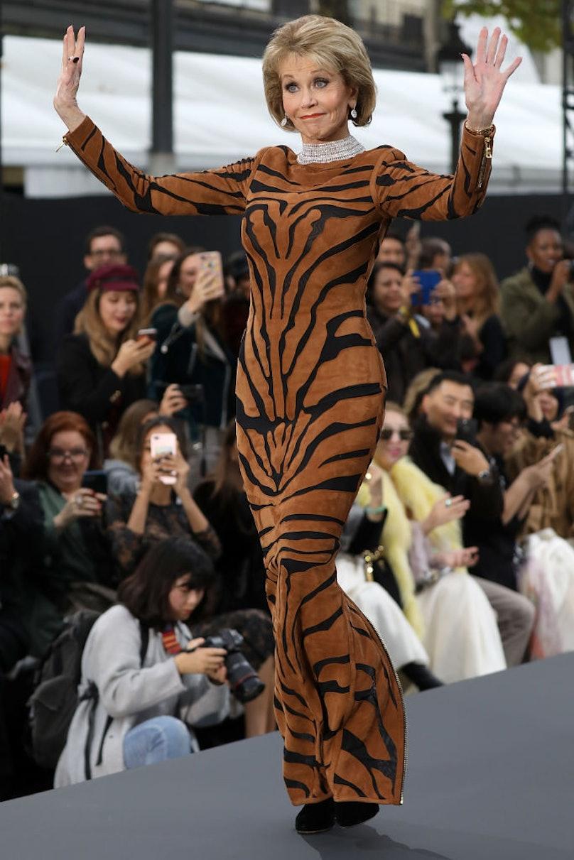 Le Defile L'Oreal Paris : Runway  - Paris Fashion Week Womenswear Spring/Summer 2018