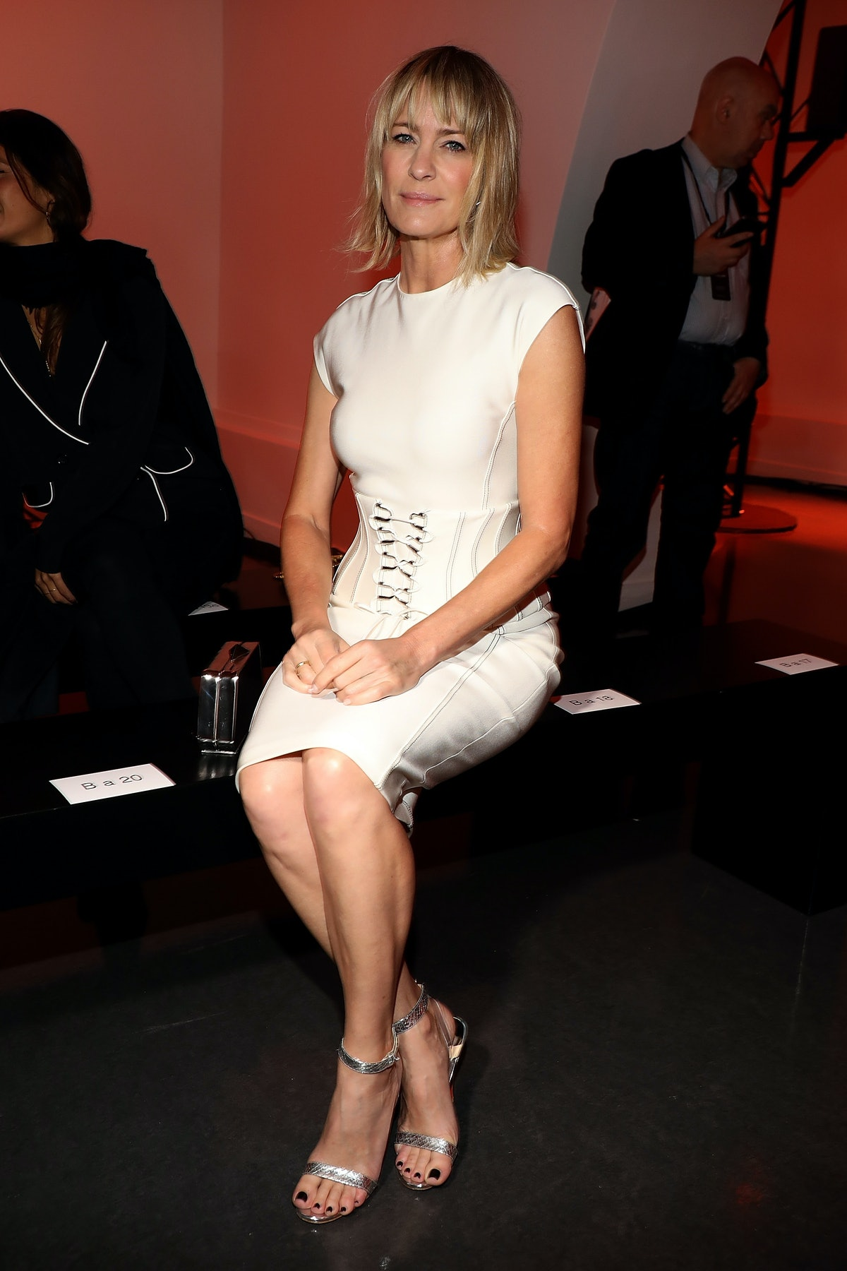 Mugler : Front Row - Paris Fashion Week Womenswear Spring/Summer 2018