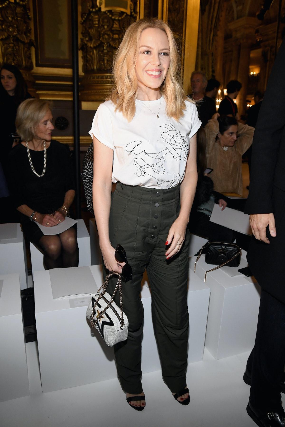 Stella McCartney : Front Row  - Paris Fashion Week Womenswear Spring/Summer 2018