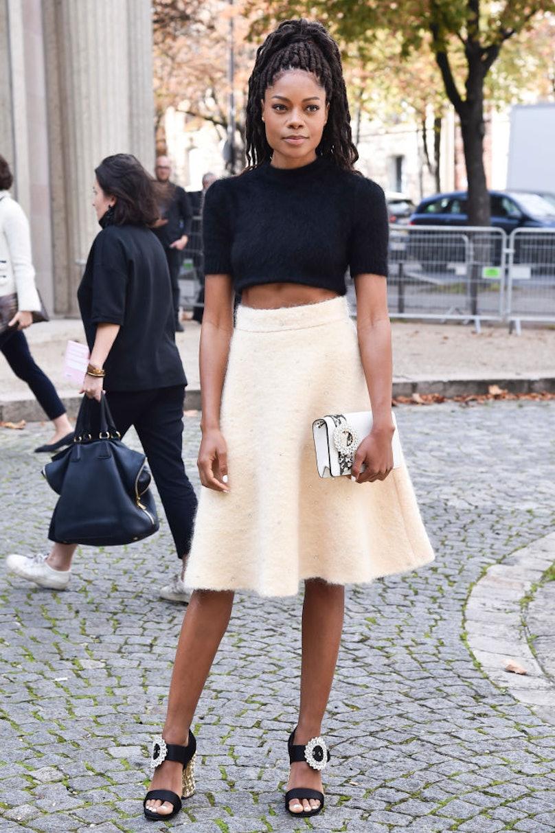 Celebrity Sightings : Paris Fashion Week Womenswear Spring/Summer 2018 : Day Eight