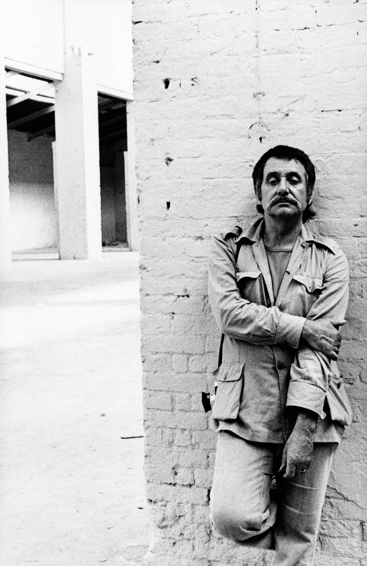 Ettore Sottsass At The Salt Warehouses In Venice For His Exhibition