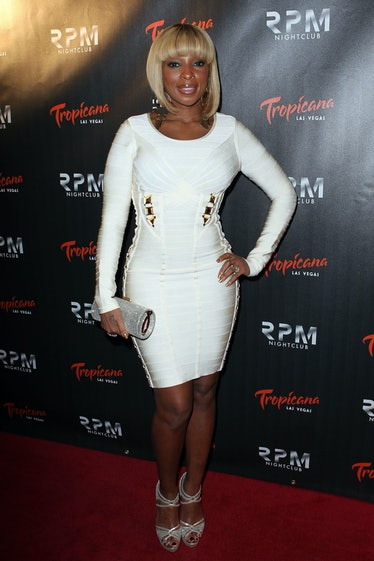 Mary J Blige Rings In The New Year For RPM Nightclub's Grand Opening Celebration At Tropicana Las Ve...