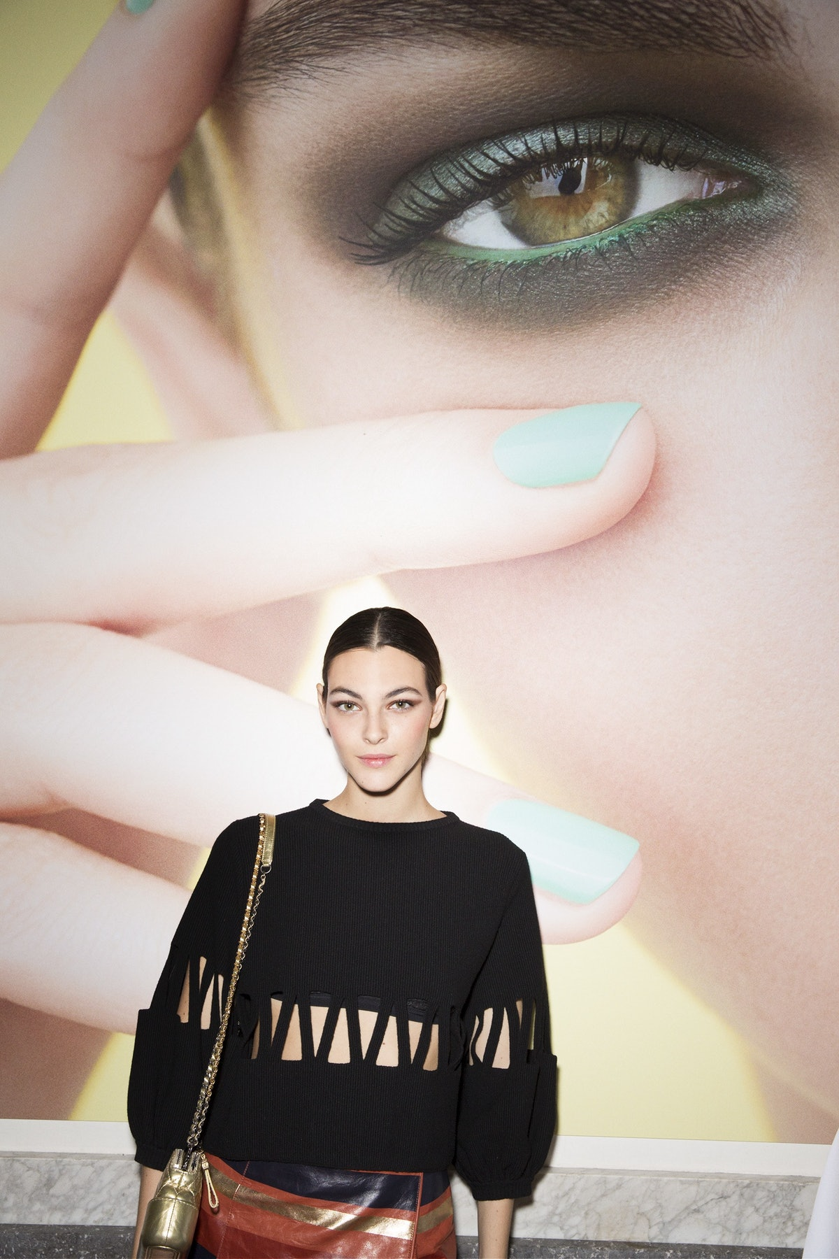Vittoria Ceretti_Lucia Pica's CHANEL Spring-Summer 2018 Makeup Collection Launch in Naples_October 1...