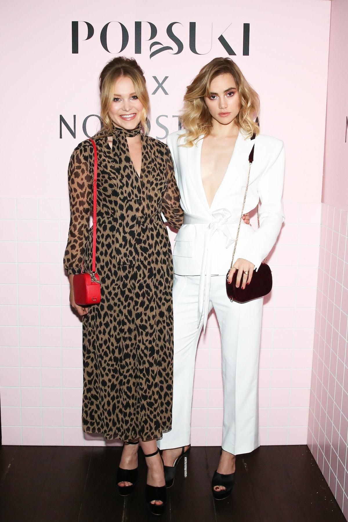 Pop & Suki X Nordstrom : Poppy Jamie and Suki Waterhouse Host An All-Girls Dinner To Celebrate Pop &...