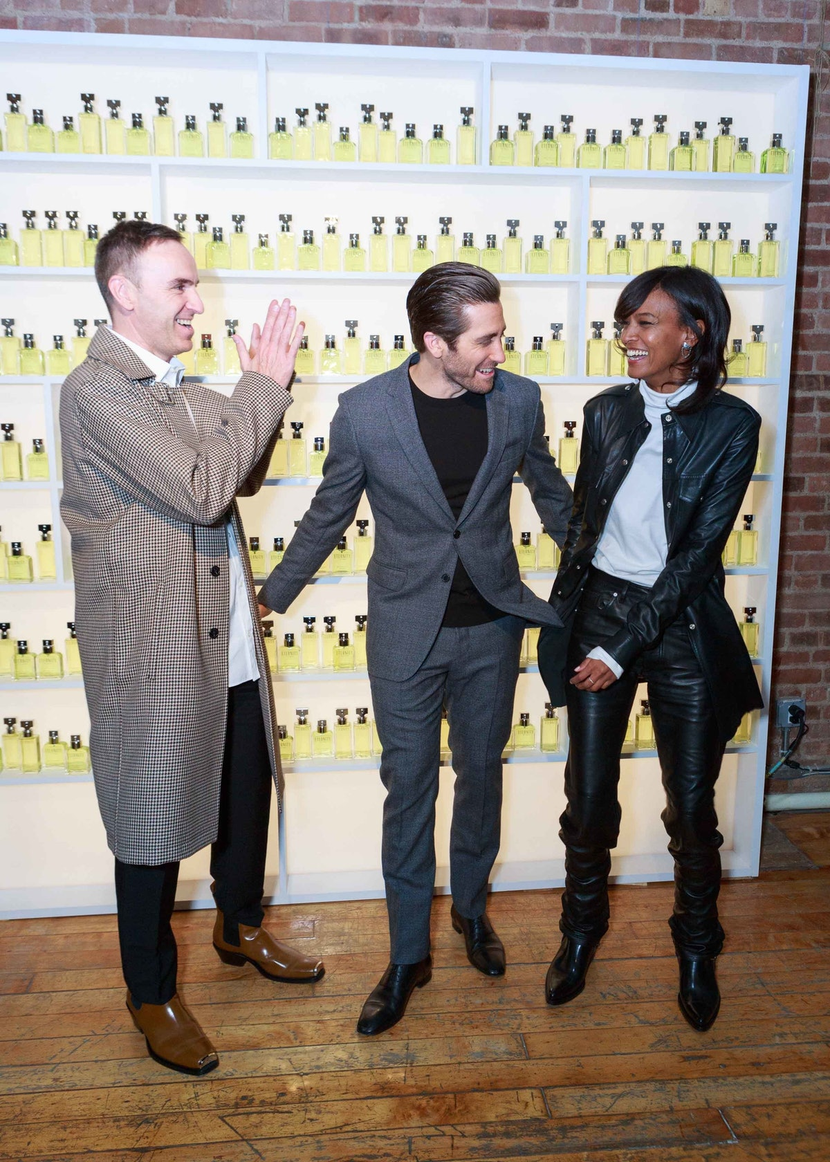 CALVIN KLEIN Hosts Private Dinner to Celebrate :New Faces of ETERNITY CALVIN KLEIN Jake Gyllenhaal +...