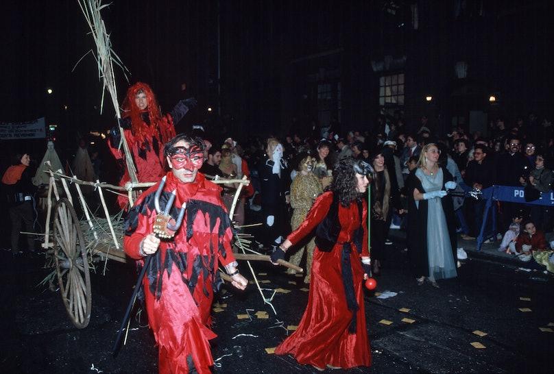 Halloween Parade in Greenwich Village