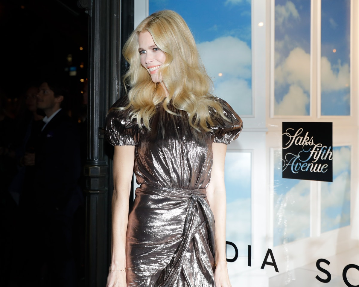 Aquazzura x Claudia Schiffer:  PA at Saks Fifth Avenue