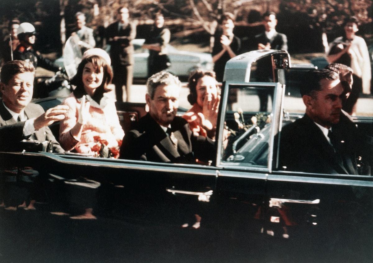 Kennedy Assassination: Kennedy in Car