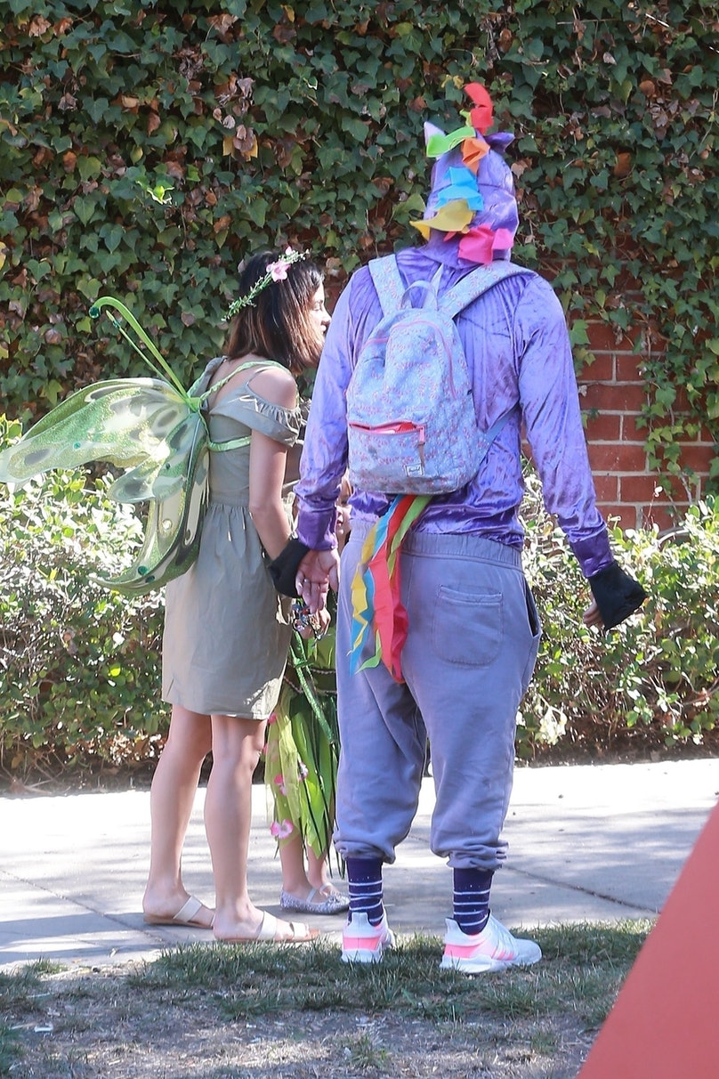 Channing Tatum and Jenna Dewan take their daughter Everly to a costume party