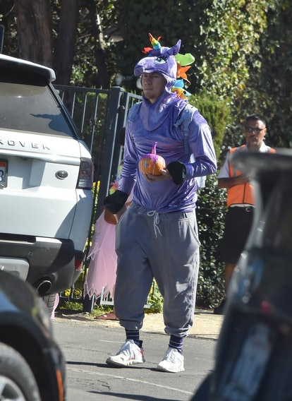 Channing Tatum and Jenna Dewan dress up with Everly for a costume party