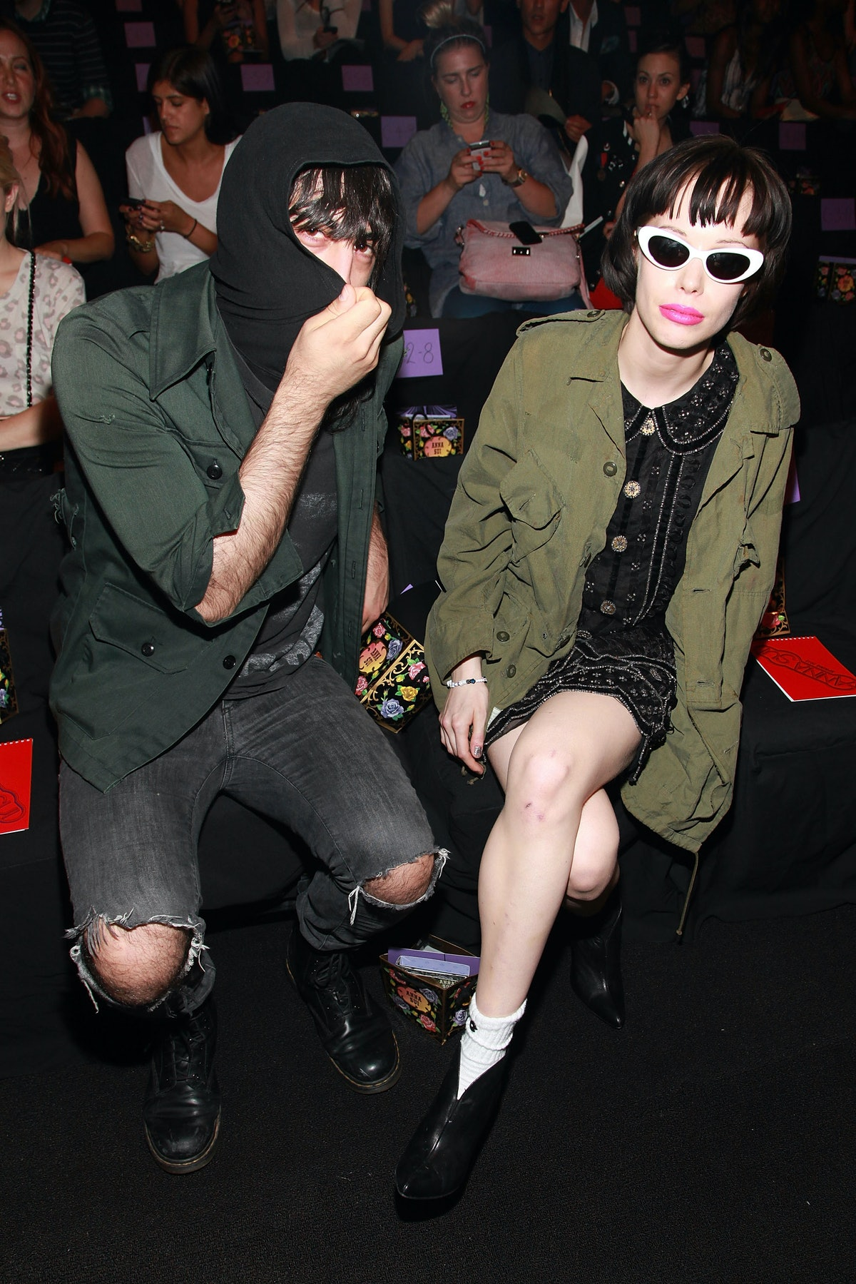 Anna Sui - Front Row - Spring 2012 Mercedes-Benz Fashion Week