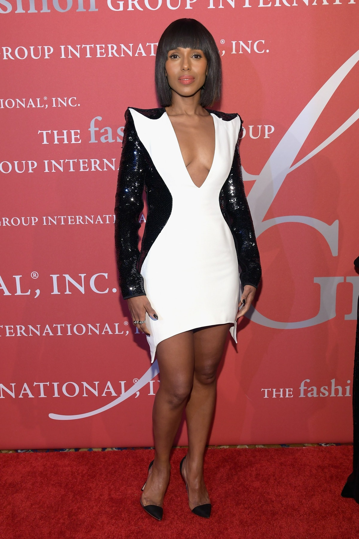 Kerry Washington Receives Lord & Taylor Fashion Oracle Award At FGI Night Of Stars Alongside Liz Rod...