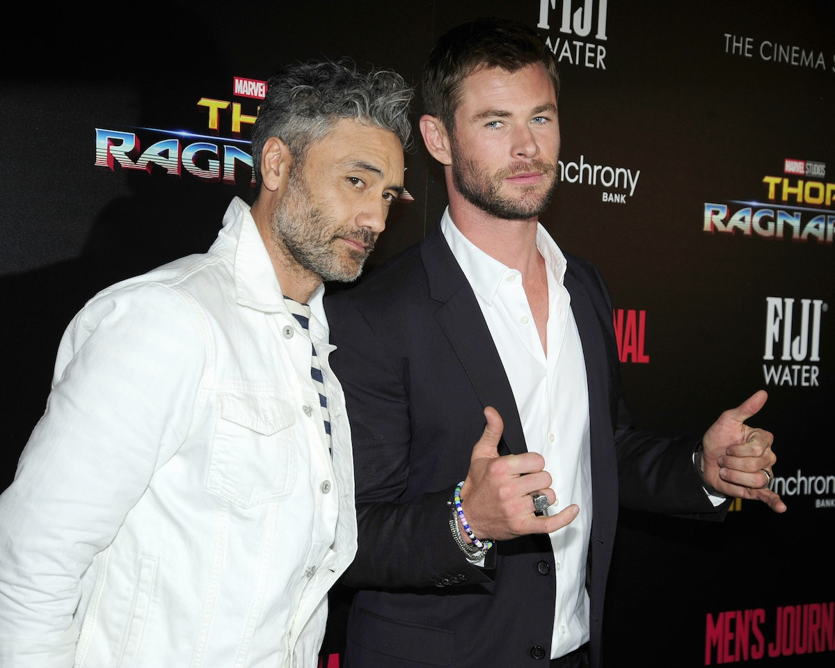 The Cinema Society with FIJI Water, Men's Journal, and Synchrony host a screening of Marvel Studios'...