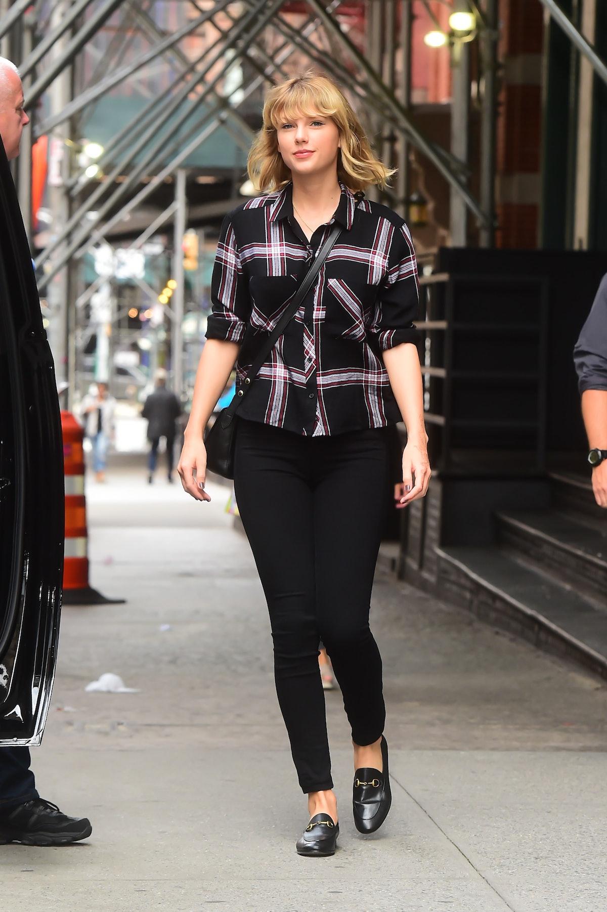 Celebrity Sightings in New York City - September 28, 2016