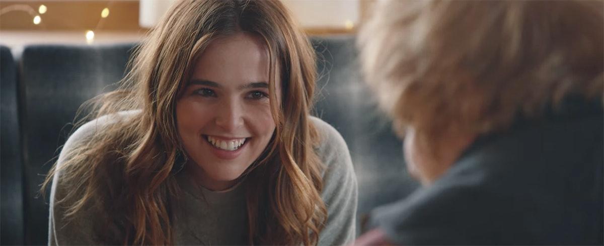 Zoey Deutch In Ed Sheeran's Music Video 'Perfect'