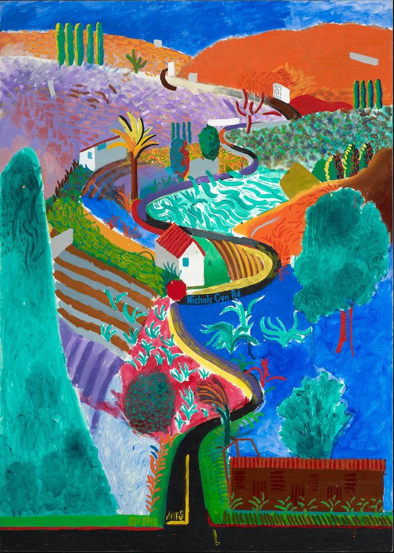 A Big Splash - David Hockney