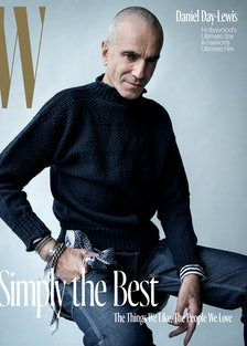 Daniel Day-Lewis - Holiday 2017 - Cover