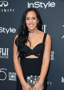 Hollywood Foreign Press Association And InStyle Celebrate The 75th Anniversary Of The Golden Globe A...