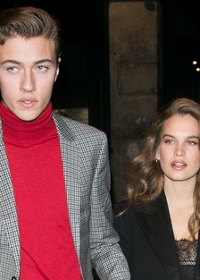 V Magazine Dinner At La Perouse : Outside Arrivals  - Day Eight- Paris Fashion Week Womenswear Fall/...