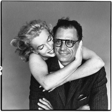 Marilyn Monroe and Arthur Miller, New York, May 8, 1957