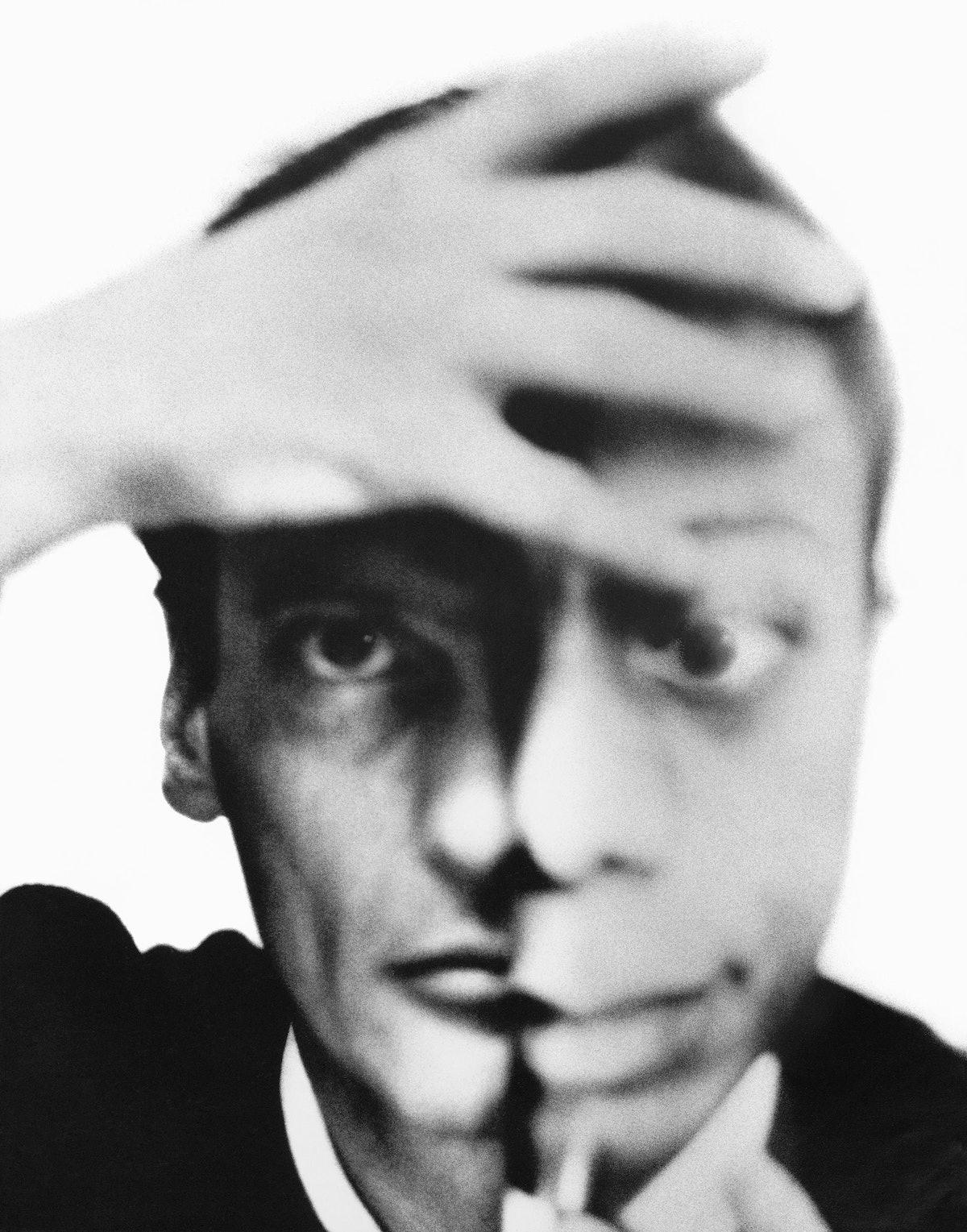 Photomat self-portrait with James Baldwin, New York City, September 17, 1964