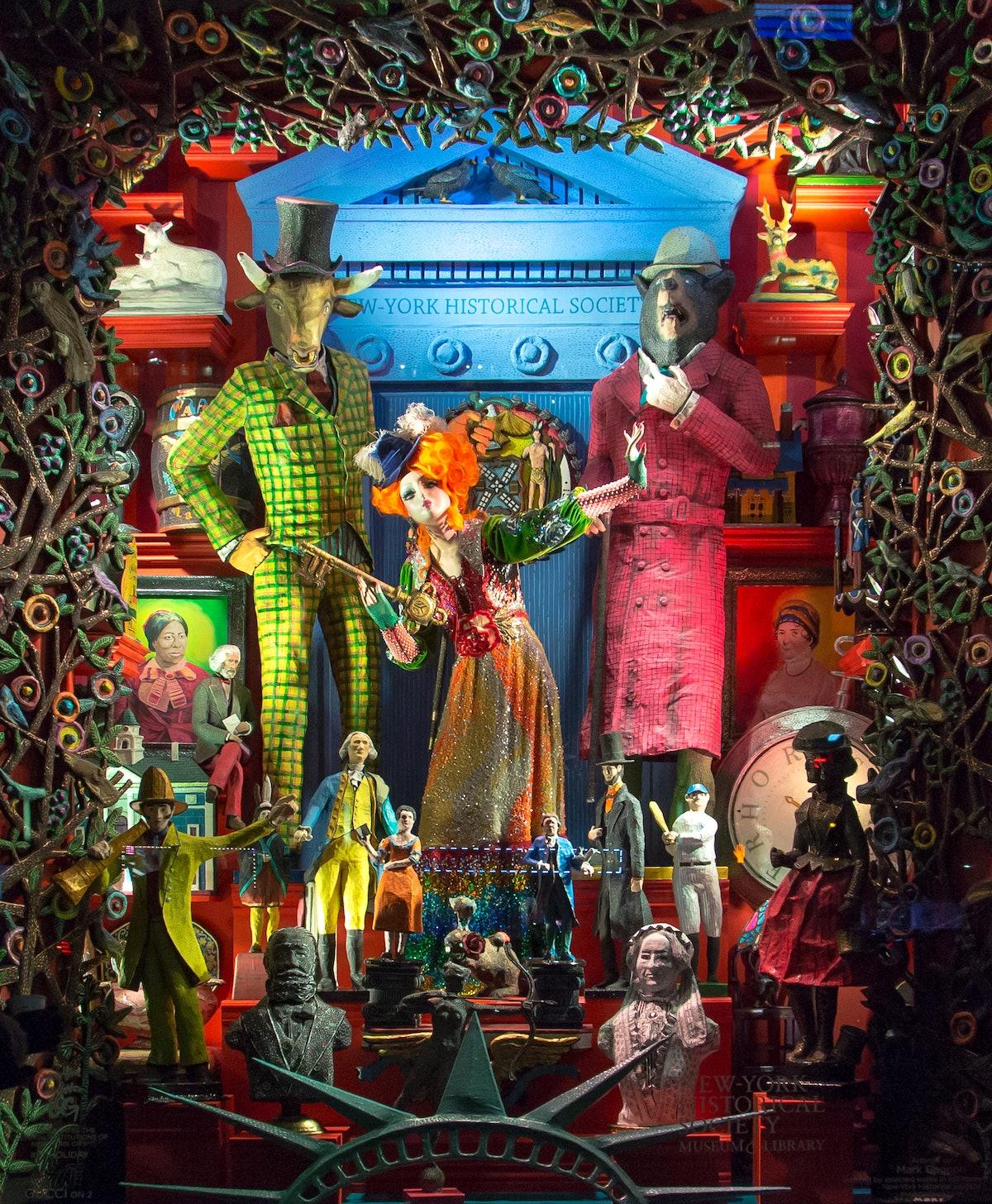 Bergdorf Goodman: Holiday 2017 Window Reveal