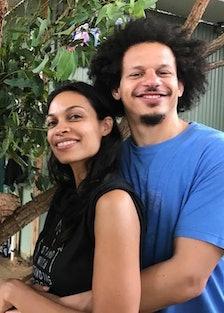 Rosario Dawson and Eric Andre Split