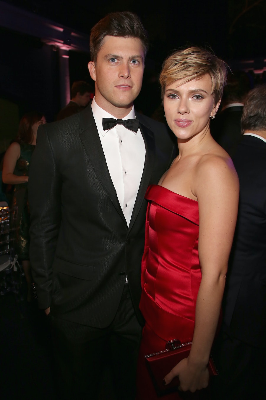 Scarlett Johansson & Colin Jost's First Public Appearance Together