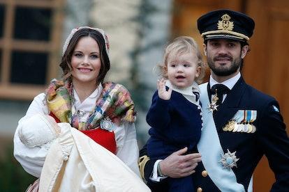 Christening of Prince Gabriel Of Sweden