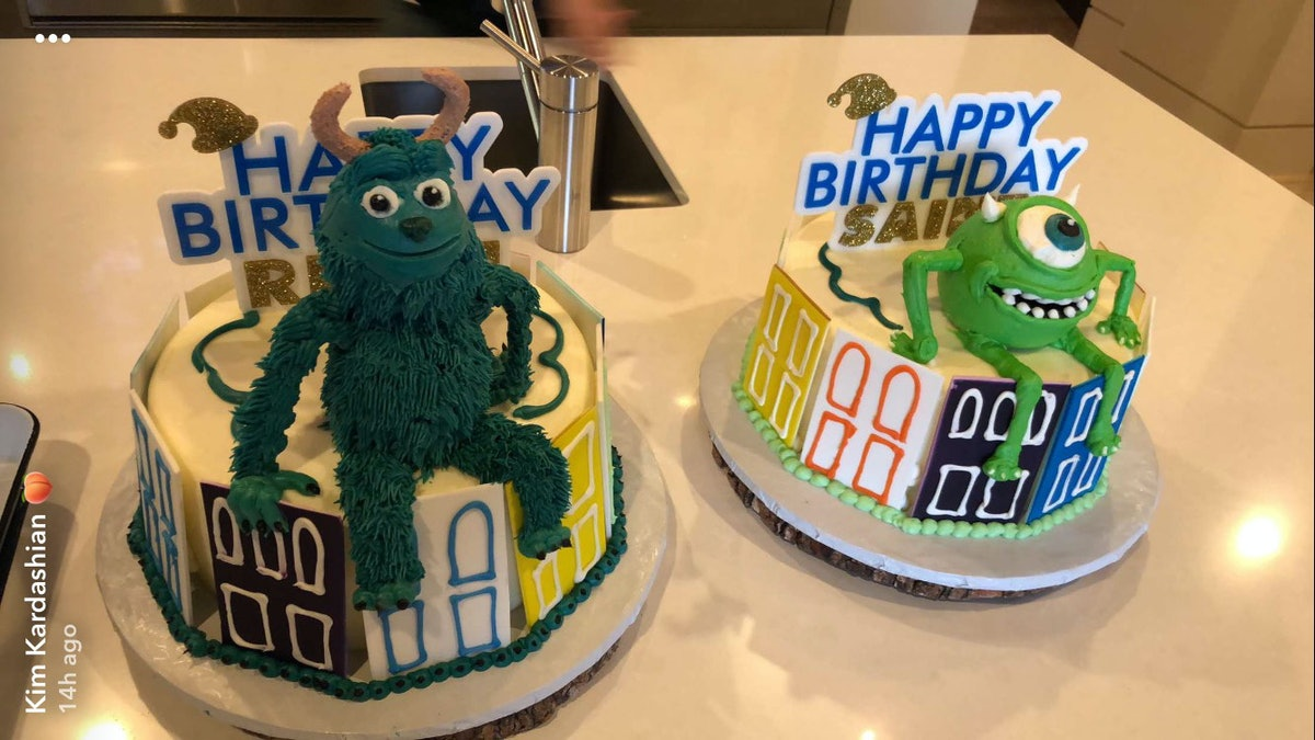 """Saint West and Reign Disick Have a Joint """"Monster Mash""""-Themed Birthday Party"""