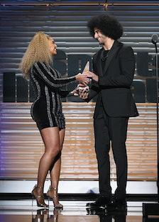 Beyoncé presents Colin Kaepernick with Muhammad Ali Legacy Award