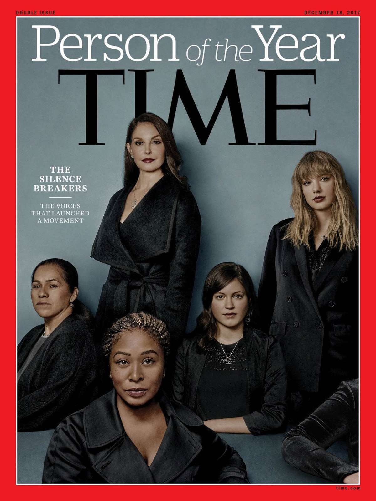 Time's 2017 Person of the Year revealed as #MeToo movement