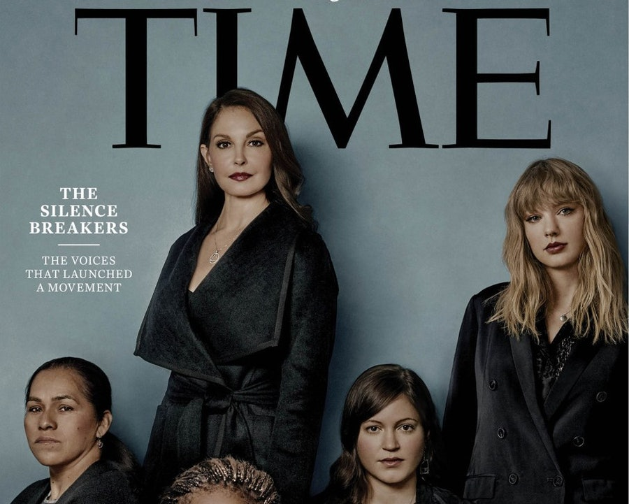 There's a powerful reason why one woman is cropped out of Time's Person of the Year cover