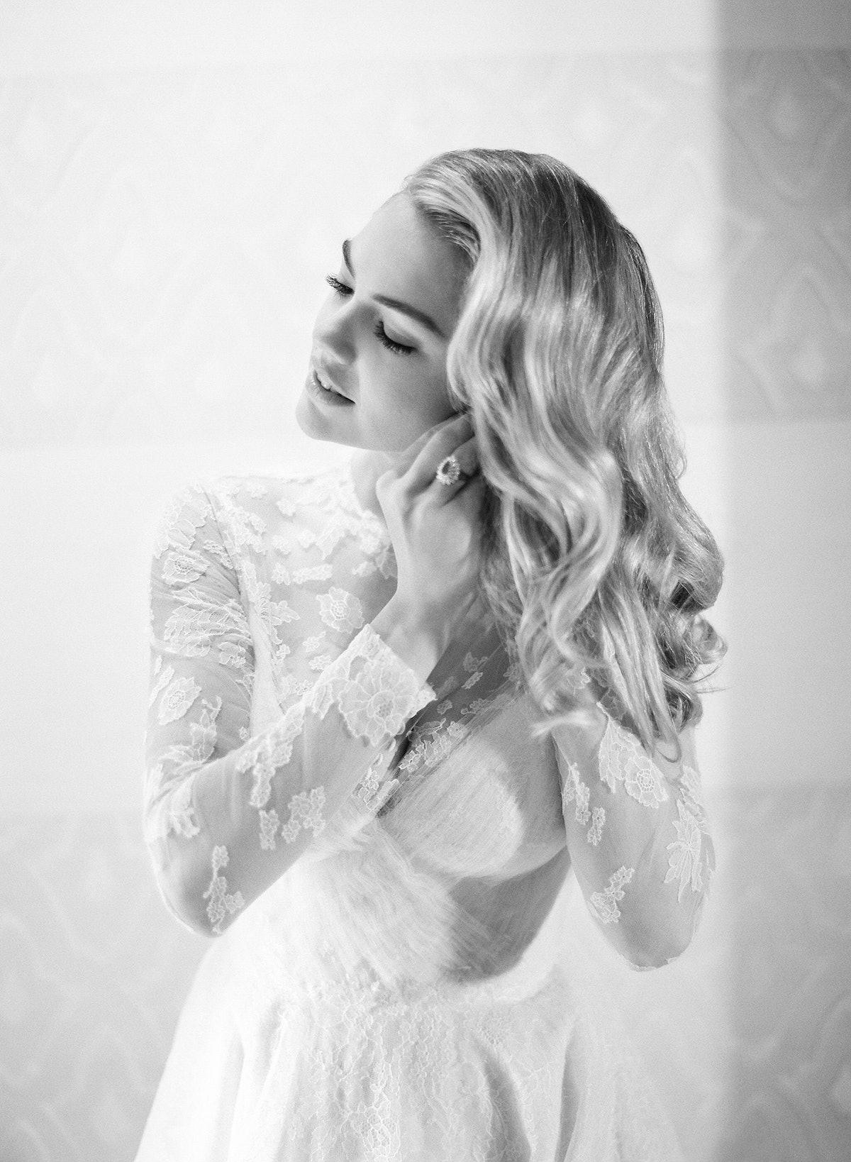 Kate Upton and Justin Verlander Wedding, Getting Ready